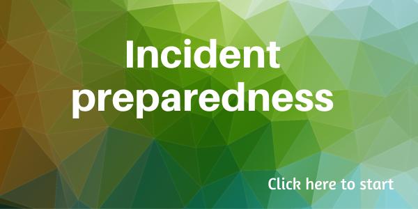 Pre-incident preparedness