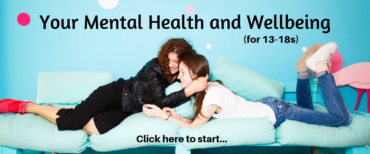 Click image to go to the course Your Mental Health and Wellbeing.